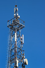 Telecommunication Tower Agains...