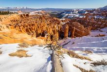 Bryce Canyon Hoodoos In Winter...