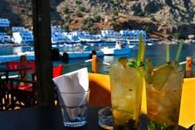 Crete Island: Loutro Village.