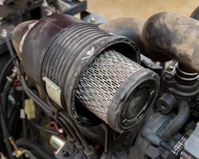Air Filter On Diesel Lawn Mowe...