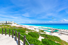 Playa Delfines (Dolphin Beach) Nicknamed El Mirador (The Lookout) – One Of The Most Scenic Public Beaches In Riviera Maya