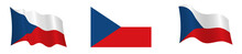 Flag Of The Czech Republic In ...
