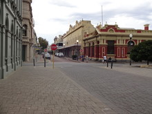 The View Of Perth City In Aust...