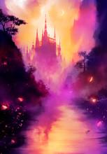 A Beautiful Fairytale Landscap...