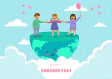 Happy Children's Day. World Ch...