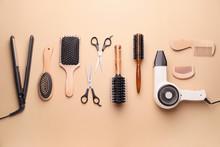 Set Of Hairdresser's Accessori...