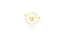 Alphabet Letter Icon Logo W Wi...