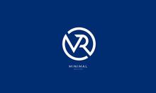 Alphabet Letter Icon Logo VR