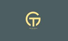 Alphabet Letter Icon Logo GT O...