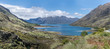 lake Hawea inlet, from The Neck, Otago, New Zealand