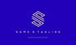 Alphabet letter icon logo S