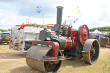 Steam Traction Engine Roller