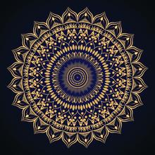 Luxury Golden Mandala Background