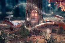 Fantasy Enchanted Fairy Tale F...