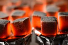 Burning Hookah Coals