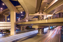 Elevated Freeways In The Inter...