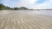 Sand Forms Waves On The Seasho...