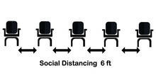 Social Distancing Chair Concep...