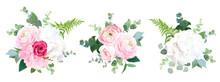 Eco Style Wedding Flowers Vect...