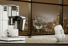 Coffee Machine In Office And B...