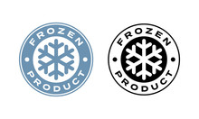 Frozen Product Vector Food Pac...