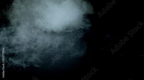 Fototapeta Realistic Dry Ice Smoke Clouds Fog photo for different projects and etc…  obraz na płótnie