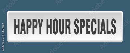 Canvastavla happy hour specials button