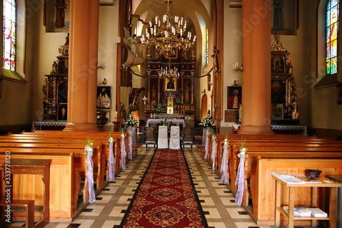 Obraz na plátne Catholic church religion spiritual state
