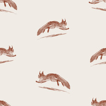 Seamless Pattern Of Sketches S...
