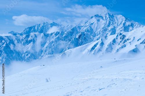 Fototapety, obrazy: 冬の北アルプス