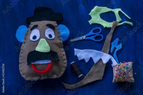 Fototapeta Mr potato head craft.Toy story.