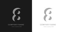 8 Logo Number Modern Design