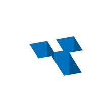 Initial Letter Y Hole Logo Vec...