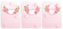 Happy Mother's Day Card Set Wi...