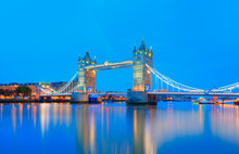 Panorama Of The Tower Bridge A...