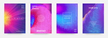 Abstract Gradient Poster. Musi...