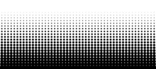 Abstract Black Halftone Backgr...