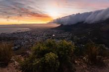 Cape Town's Table Mountain, Su...