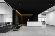 Reception In White And Black O...