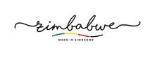 Made In Zimbabwe Handwritten C...