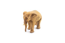 Elephant Carved Out Of Hardwoo...