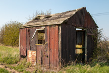 Derelict Falling Down Shed