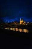 Fototapeta Londyn - Katedra nocą
