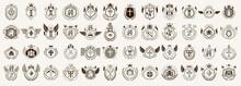 Classic Style Emblems Big Set,...