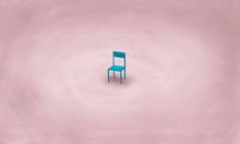 Lonely Blue Chair