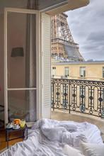 Window View Of The Eiffel Towe...