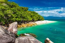 Nudey Beach On Fitzroy Island,...