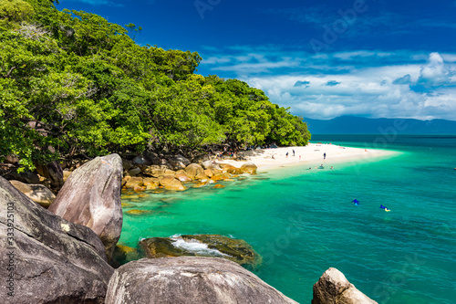Photo Nudey Beach on Fitzroy Island, Cairns, Queensland, Australia, Great Barrier Reef