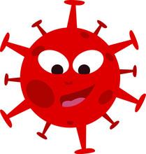 Covid19. Virus Danger Icon. St...