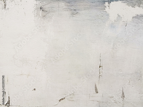 Fototapety, obrazy: White old cement wall concrete backgrounds textured